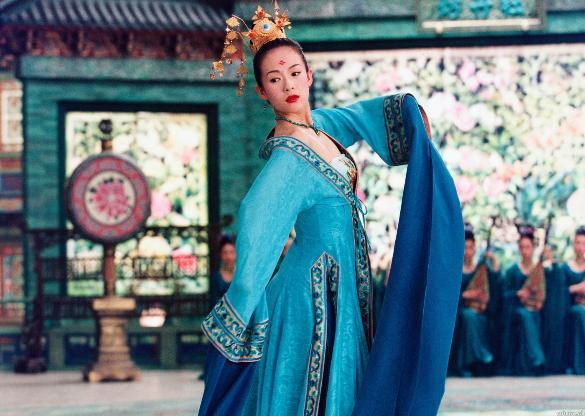 Zhang Ziyi - House of flying daggers - 2004